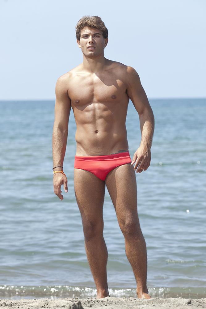 Traje de ba o modelo braga hombres salvavidas animadores playa - Traje de bano hombre ...