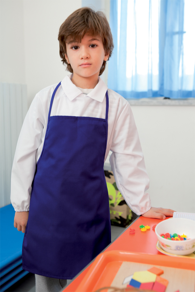 Kid's bibbed apron
