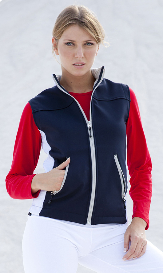 Gilet donna in Soft Shell
