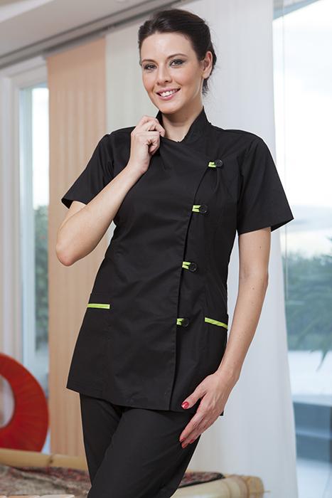 Casacca donna divisa ristorante etnico beuty farm estetista for Uniform spa italy