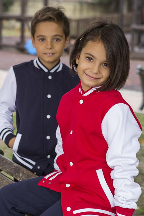 fbb9f25443a Chaqueta Sudadera unisex colegial para niños, Sudaderas escuelas