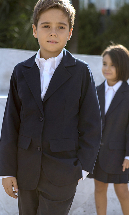 Boy's jacket school clothing