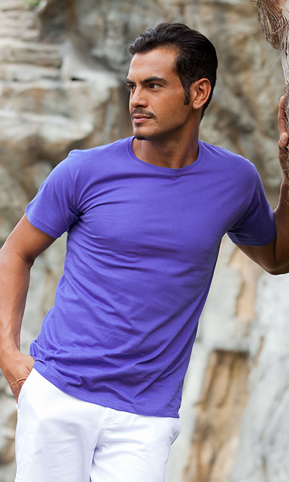 T-shirt slim fit uomo