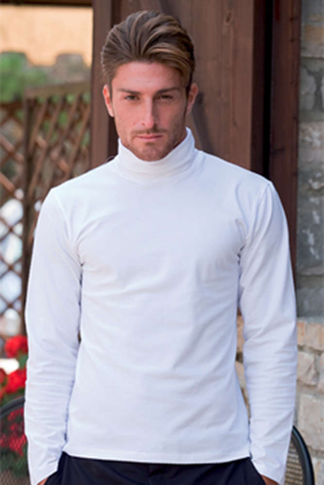8f112652e4cb23 Men's high neck t-shirt, high-neck t-shirt under-suit