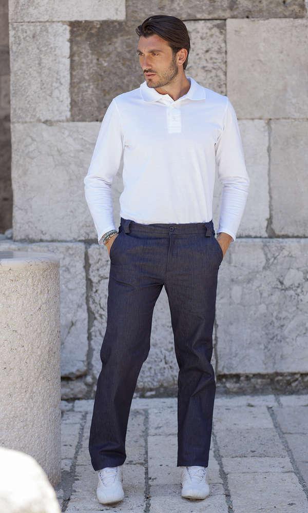 Pantalone da lavoro uomo in jeans a793409a0aa