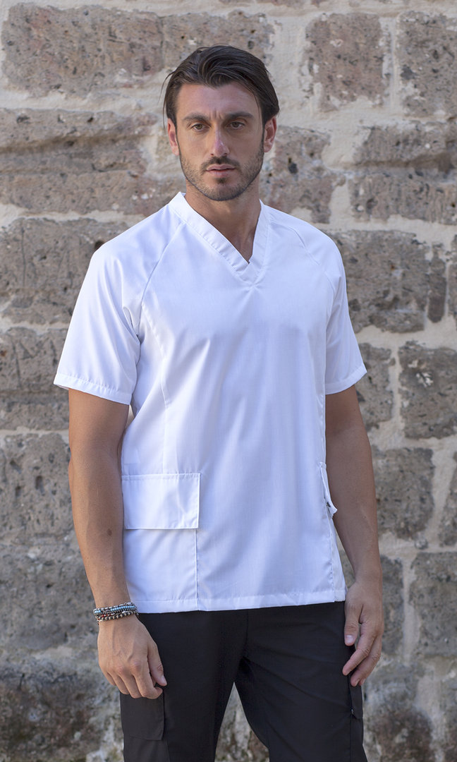 Stain resistant man's tunic